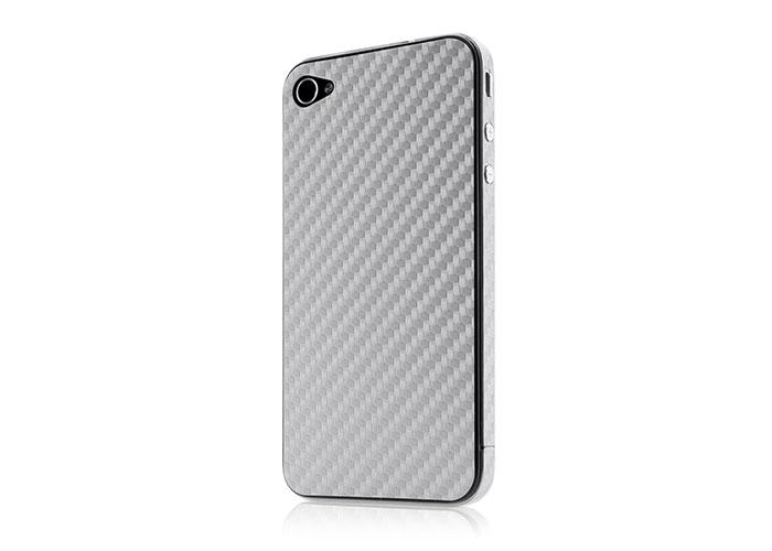 Belkin BLK-F8Z897cwC01 Gümüş iPhone 4 Sticker Koruma Kılıfı