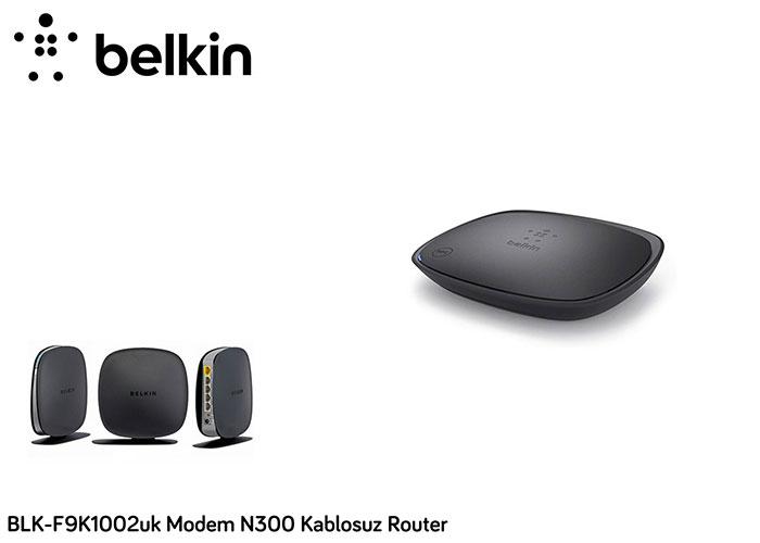Belkin BLK-F9K1002uk N300 Kablosuz Router