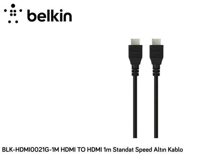 Belkin BLK-HDMI0021G-1M HDMI TO HDMI 1m Standat Speed Altın Kablo