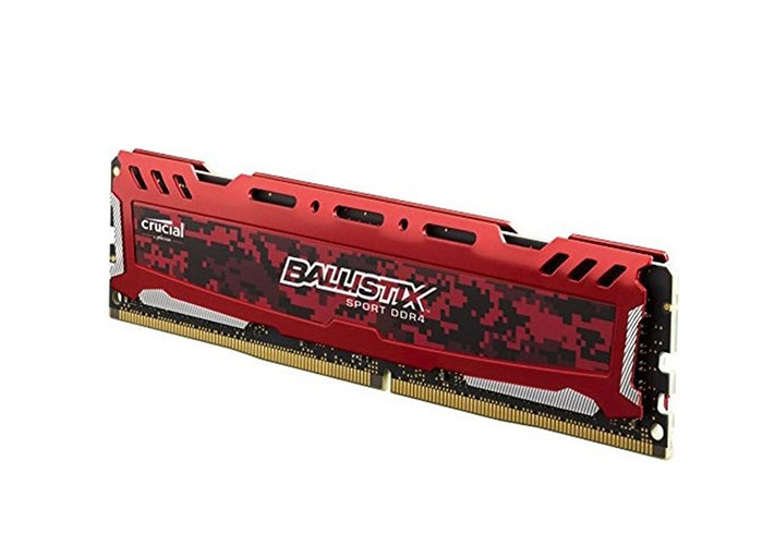 Crucial BLS4G4D26BFSE 4GB 288 Pin UDIMM 2666 MT/s DDR4 CL16 SRx8 RAM