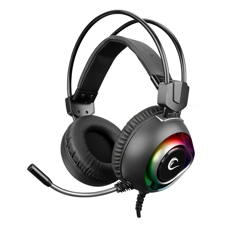 Rampage BYGAME-X2 Siyah USB 7.1 Surround RGB Ledli Gaming Mikrofonlu Oyuncu Kulaklığı