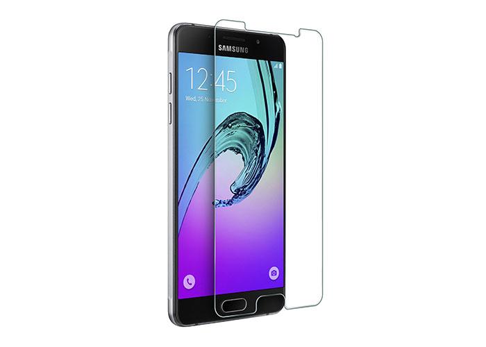 S-link CM-A32016 Tempered Glass 0.3mm 2.5D Samsung New A3 2016 Cam Ekran Koruyucu