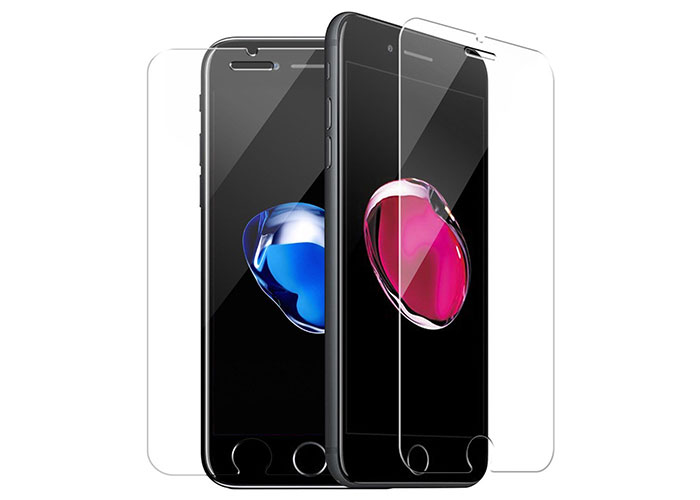 S-link CM-IM7P Tempered Glass 0.3mm 2.5D iPhone 6/6S/7/8 Plus Cam Ekran Koruyucu