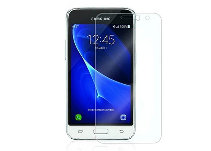 S-link CM-J1 Mini Tempered Glass 0.3mm 2.5D Samsung Galaxy J1 2016 Cam Ekran Koruyucu