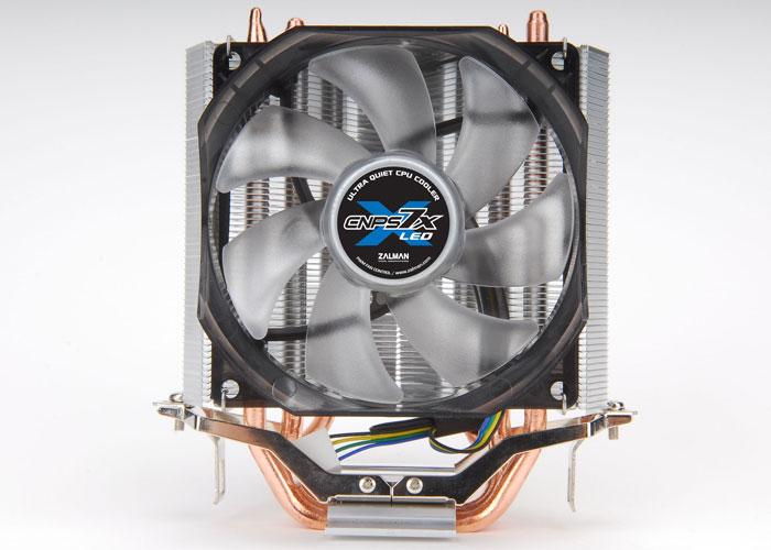 Zalman CNPS7X LED V-tipi Çift Isı Emici CPU Fan