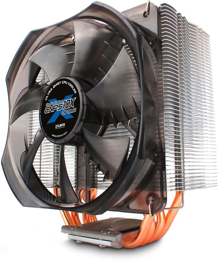 Zalman CNPS 10X OPTIMA (2011) 120mm Fan Shark Fin Blade CPU Fan