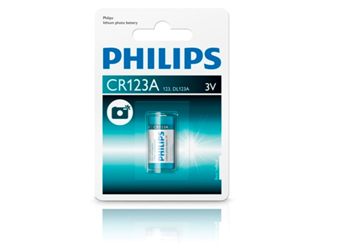 Philips CR123A/01B Minicell Lithium CR123A Tekli Pil