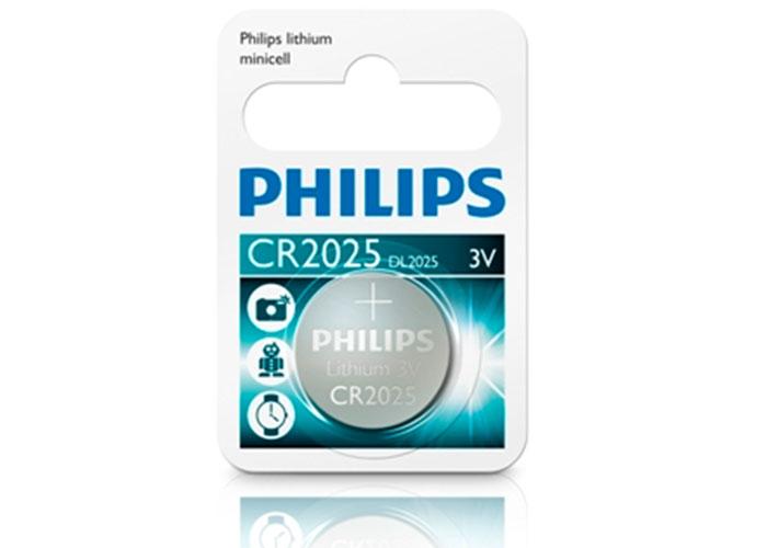 Philips CR2025/01B Minicell Lithium CR2025 Tekli Pil