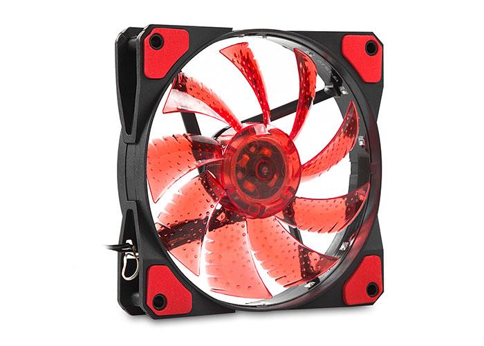 Evercool CS1230R 120*120*25mm Kırmızı Işıklı Kasa Fanı