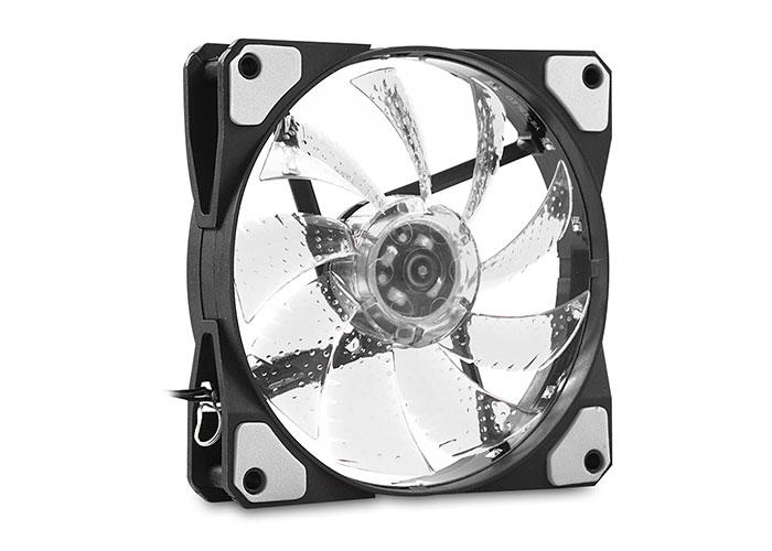 Evercool CS1230W 120*120*25mm Beyaz Işıklı Kasa Fanı