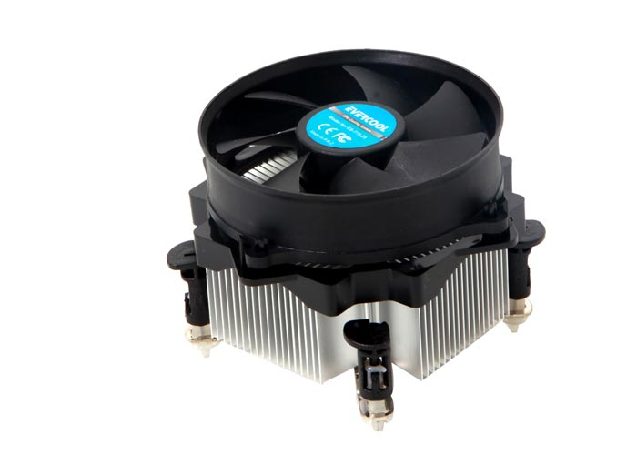 Evercool CS-775-25 Aliminyum CPU Fan