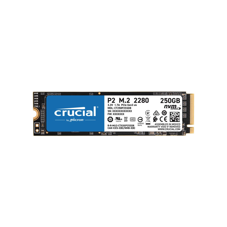 Crucial CT250P2SSD8 250GB P2 M.2 NVMe PCIe SSD PN