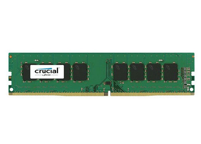 Crucial CT8G4DFD824A.C16FHP 8GB 288 Pin UDIMM 2400 MT/S DDR4 CL17 DRx8 RAM