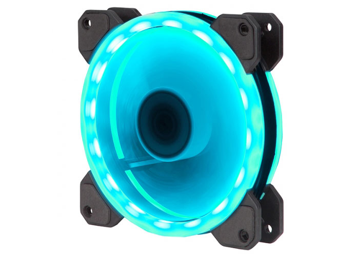 Xigmatek CY120 EN40261 120*120*25mm RGB Çift Yüzlü 1200rpm Kasa Fanı