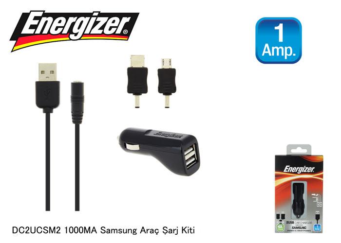 Energizer DC2UCSM2 1000MA Samsung Araç Şarj Kiti