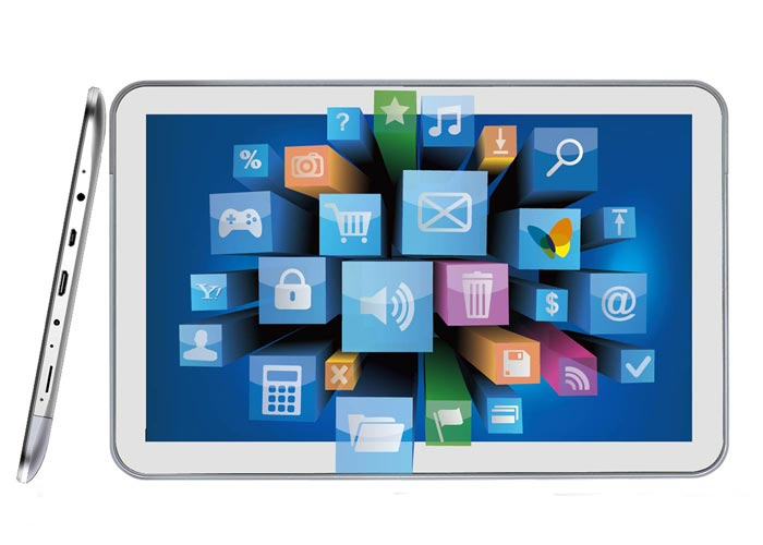 Everest EVERPAD DC-1100-16 10.1 IPS 1GB DDR3 1.6GHz X2 16GB Parlak Beyaz Android 4.1 Tablet Pc