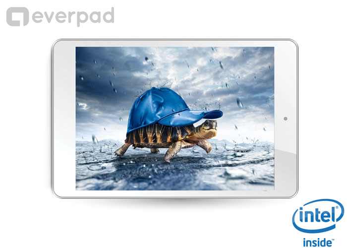 "Everest EVERPAD DC-1106 7.85"" IPS 1GB DDR3 İntel Çift Çekirdek 8GB Çift Kamera Android 4.2.2 Tablet Pc"