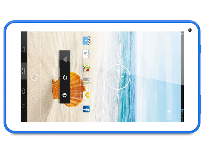 Everest EVERPAD DC-1112 Dual Camera Blue 7 HD Panel 512 DDR3 1.3GHz Quad Core 8GB Android 4.4 Kitka