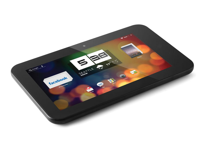 Everest EVERPAD DC-702 7 1GB DDR3 1.6GHz X2 16GB BT. Çift Kamera Parlak Siyah Android 4.1 Tablet Pc