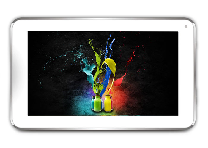 Everest EVERPAD DC-709 7 1GB DDR3 1.0Ghz X2 8GB Çift Kamera Parlak Beyaz Android 4.20 JellyB. Tablet Pc