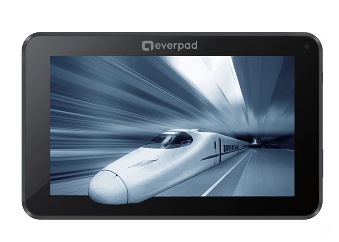 Everest EVERPAD DC-709 7 1GB DDR3 1.0Ghz X2 8GB Çift Kamera Parlak Siyah Android 4.20 JellyB. Tablet Pc
