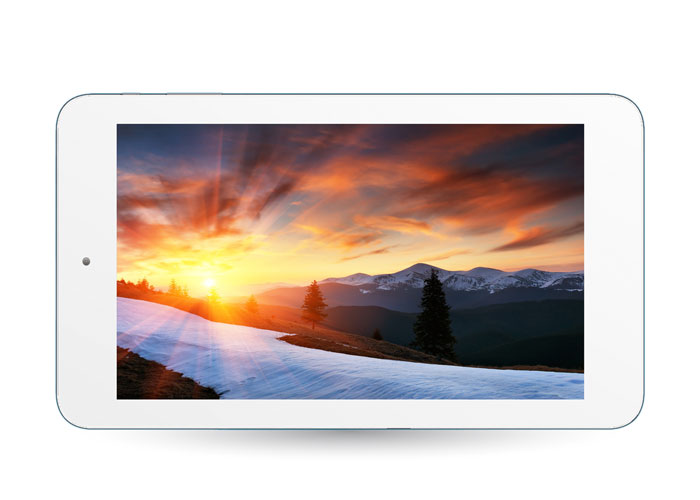 Everest EVERPAD DC-718 7 HD Panel 1GB DDR3 1.5GHz x4 Çekirdek 8GB 0.3-2.0MP Çift Kamera Beyaz Android Tablet Pc