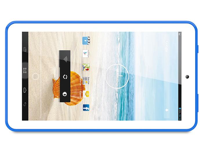 Everest EVERPAD DC-718 0.3-2.0MP Çift Kamera Mavi 7 HD Panel 1GB DDR3 1.3GHz x4 Çekirdek 8GB Android Tablet Pc