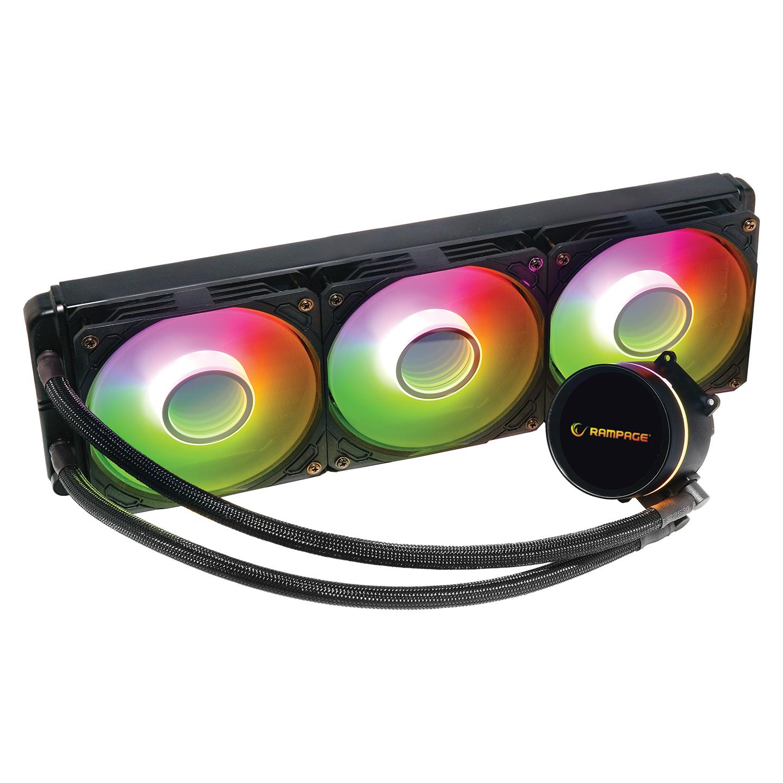 Rampage DEEPLIGHT-360 ARGB 1000/2000rpm 274x120x52mm Su Soğutmalı CPU Soğutucu