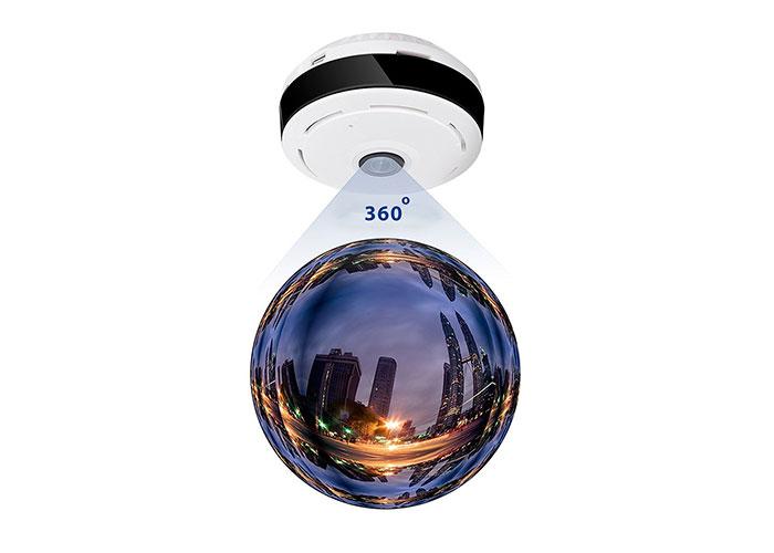 Everest DF-404 1.3mp IP 360 Derece P2P Balık Gözü IP TF Kartlı Güvenlik Kamerası