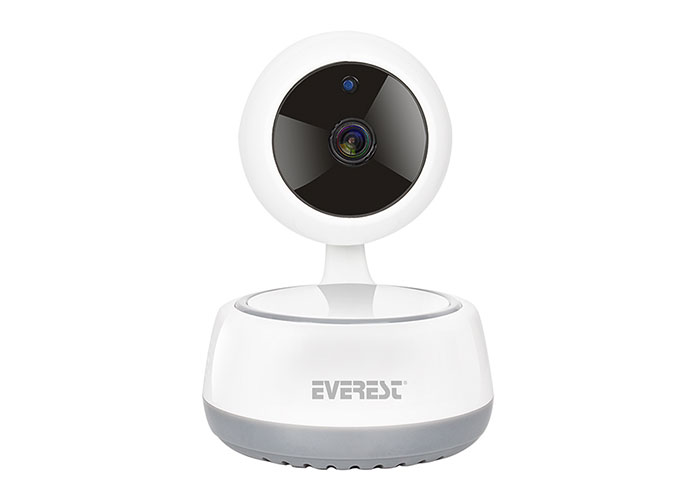 Everest DF-831W 2.0 MP HD Lens 3.6mm IP Smart Wifi Network TF Card Security Camera Powered byYoosee Mobile App