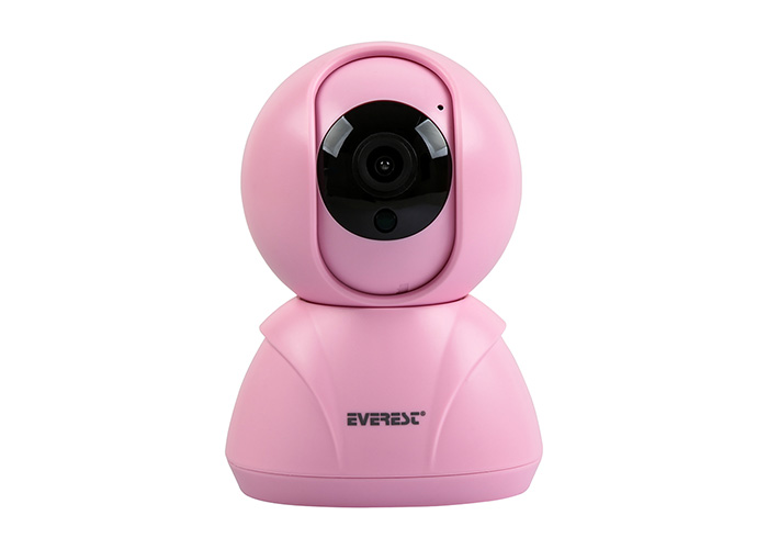 Everest DF-841W 2.0 MP IP Smart Wifi Network TF Card Pembe Güvenlik Kamerası Yoosee