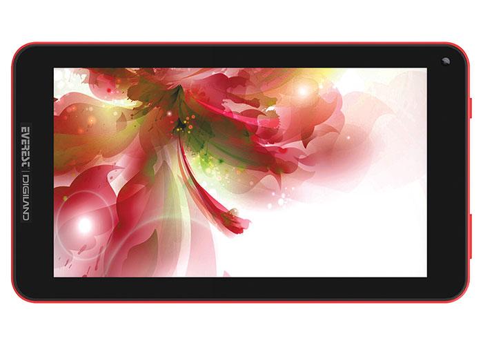 Everest Digiland DL7006-KB Kırmızı Wifi+BT4.0 Çift Kamera 7 IPS 1024*600 1GB 1.3GHz Quad Core 8GB Android 7.0 Tablet Pc