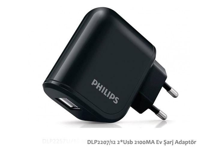 Philips DLP2207/12 2*Usb 2100MA Ev Şarj Adaptör
