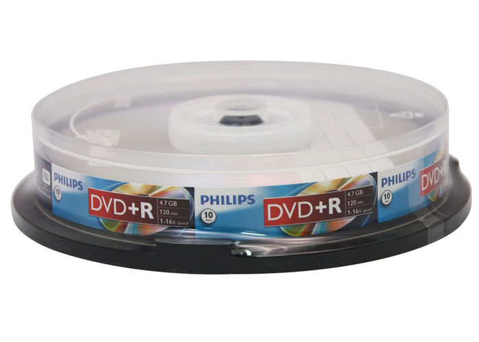Philips DR4S6B10F-97 4.7GB 10-pack Cake Box 16X DVD + R