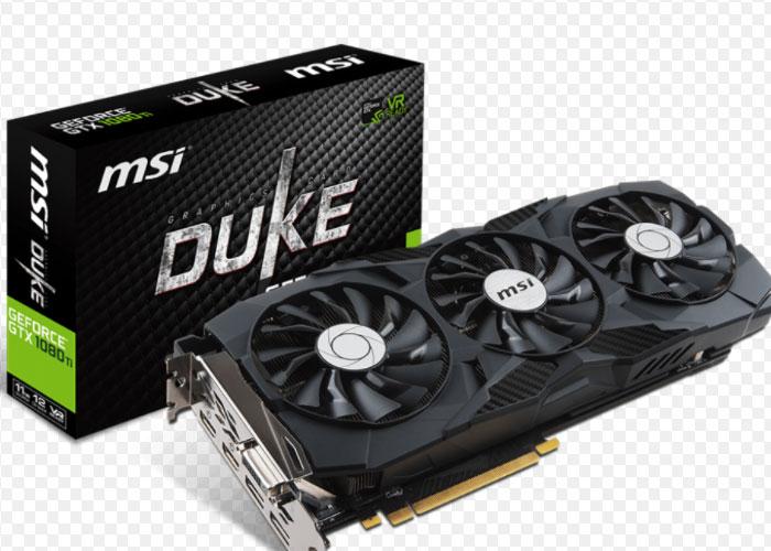 MSI 912-V330-224 DUKE GTX 1070 TI DDR5 256 Bit 8GB Ekran Kartı