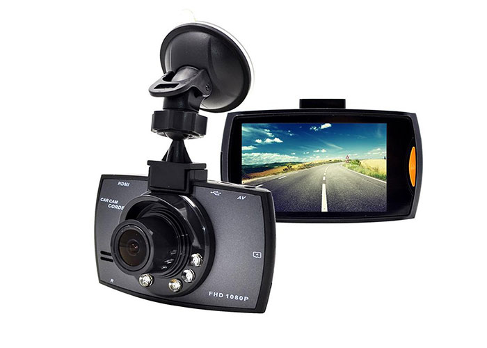 Everest DVR-013 0.3M Pixels CMOS 90 Lens 2.4 HD TFT LCD Ekran 640*480/30fps-1280*720/25fps Araç İçi Kamera