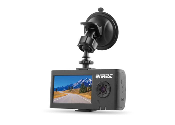 Everest DVR-017 120 Lens Açısı 2.7 TFT Ekran 1 IR Led 1280X720 30fps Ön ve Arka Araç İçi Kamera