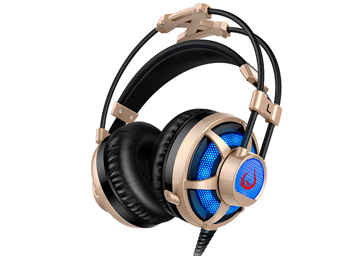 Snopy Rampage SN-RX7 EAGLE Led Gaming Beige Headset