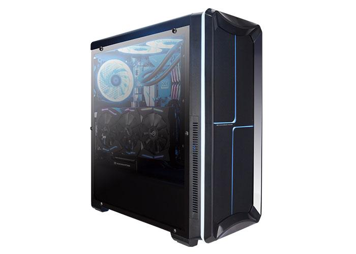 Xigmatek EDEN Siyah Usb 3.0 RGB Yedi Renk Ledli 12cm Fan Kart Okuyuculu Atx Mid Tower Kasa