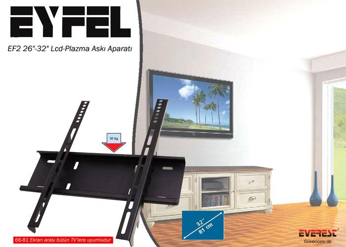 Eyfel EF2 26-32 Lcd-Plazma Askı Aparatı