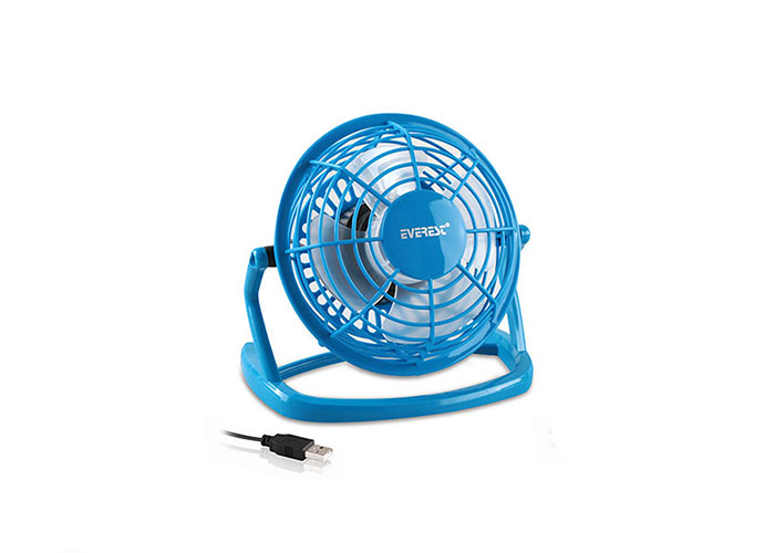 Everest EFN-488 Plastik Mavi Usb FAn