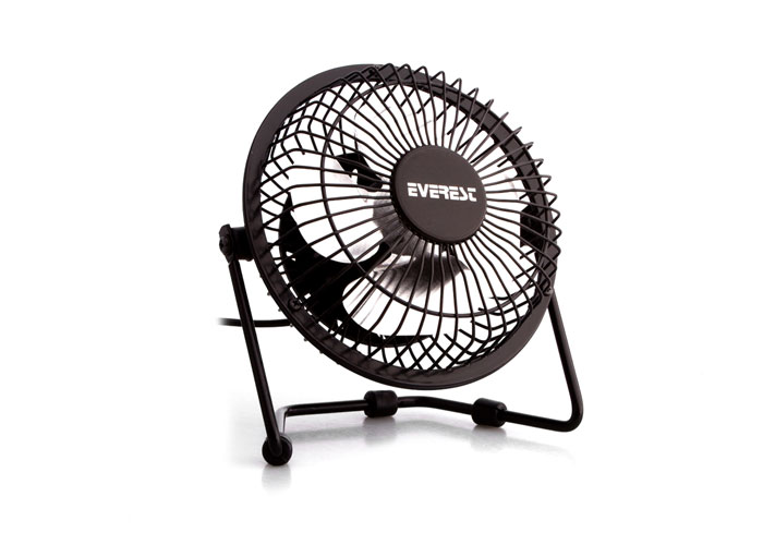 Everest EFN-482 Desktop Metal Black Usb Fan