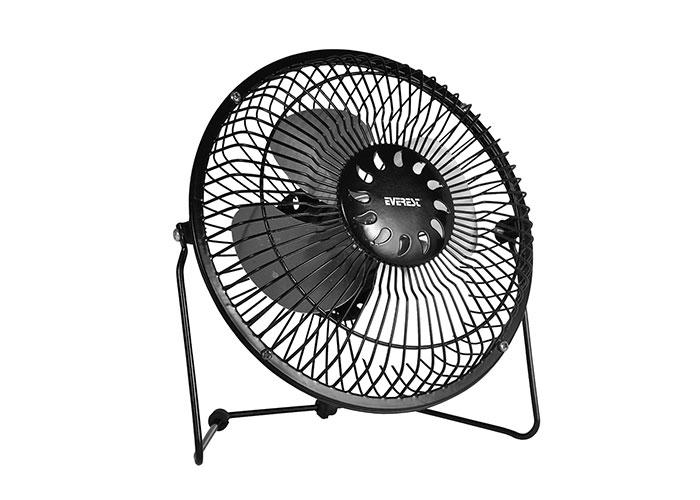 Everest EFN-487 6 Masaüstü Metal Siyah Usb Fan