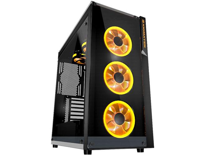 Xigmatek EN9726 Prosper 4 * 12cm RGB Fan 2 * Usb3.0 FUL WINDOWS Gaming Case