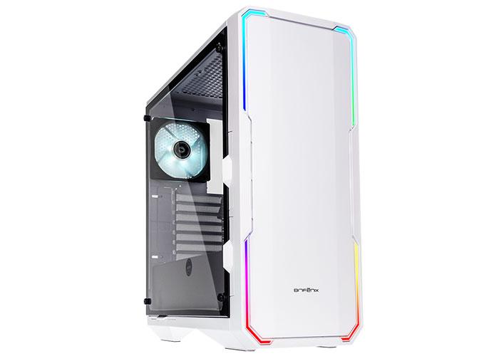 BitFenix ENSO 2*120mm Fan Beyaz 2*Usb 3.0 Tempered Glass Oyuncu Kasası