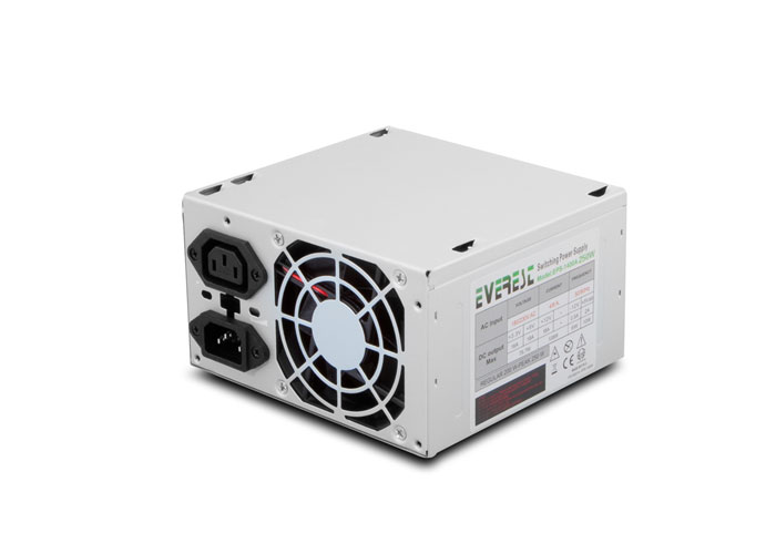 Everest EPS-1400A(ATX-250) Real 200W Peak-250W Atx 20+4 Pin Power Supply