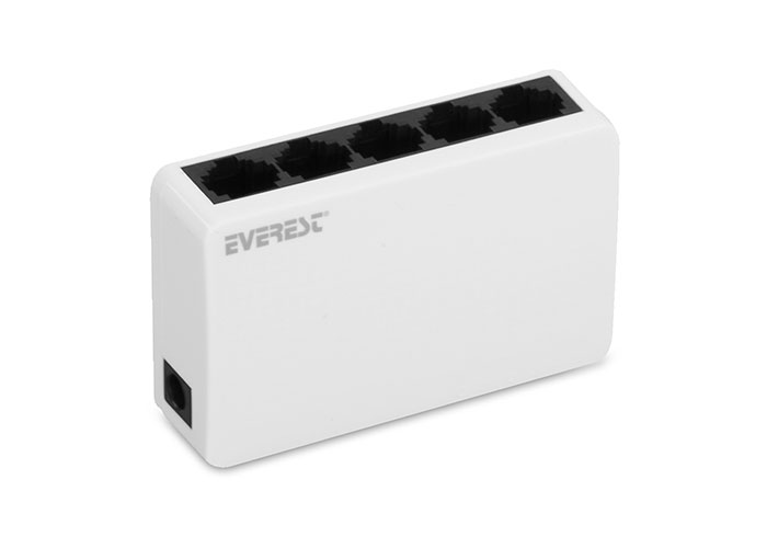 Everest ESW-105 5 Port 10 / 100Mbps Ethernet Switch Hub
