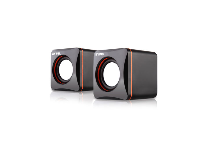 Eyfel ES-962 2.0 Siyah/Turuncu Speaker