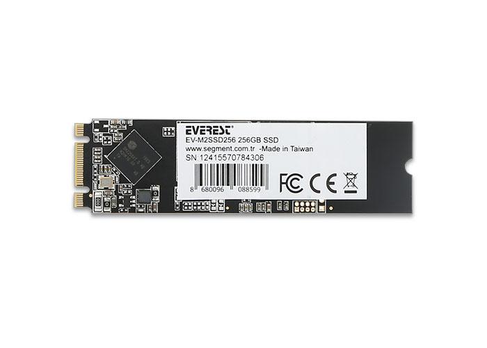 Everest EV-M2SSD256 256GB INTEL+2258XT CDM M.2 SATA 2280 SSD (Solid State Disk)