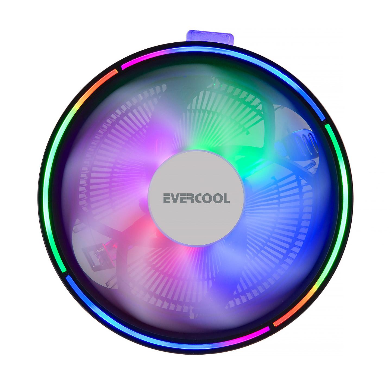 Evercool CS-13 130*130*85mm 1800rpm Intel 775/115X/AMD 2+3-4-FM1 CPU Fan